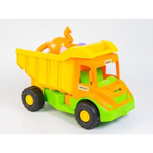 """""""Multi truck"""" вантажівка з набором для піску з лійкою 8 ел. - 3"""