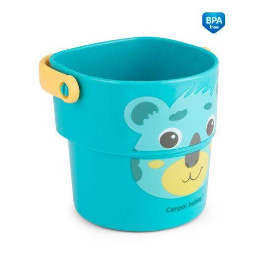 Canpol babies Іграшка-кружечки для купання HELLO LITTLE 3 шт. - 6