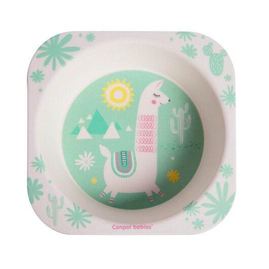 Canpol babies Набір посуду бамбуковий 5 ел. LAMA - 5