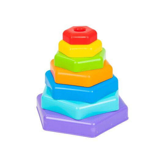 """Іграшка розвиваюча """"Райдужна пірамідка"""""""