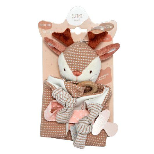 Іграшка - текстильна  косуля Рубі, ELFIKI - 2