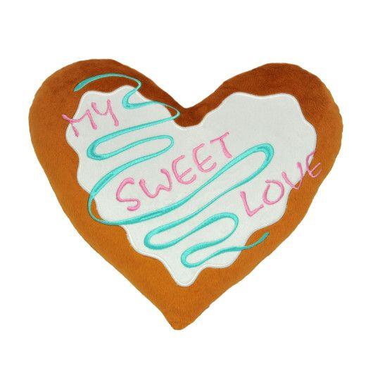 """Подушка - серце """"My sweet love"""", Tigres"""