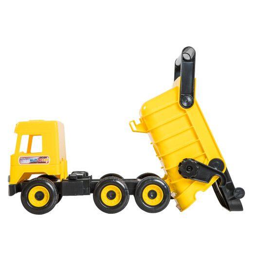 """Авто """"Middle truck"""" самоскид  (жовтий) в коробці - 2"""