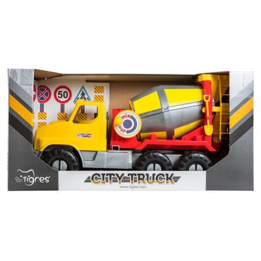 """Авто """"City Truck"""" бетонозмішувач в коробці - 3"""
