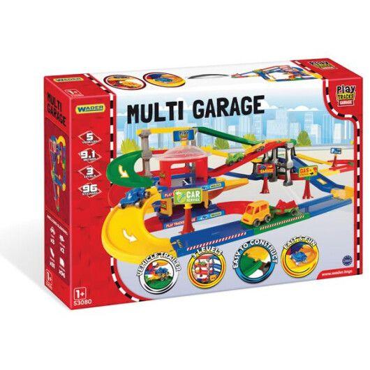 Play Tracks Garage - паркінг з трасою