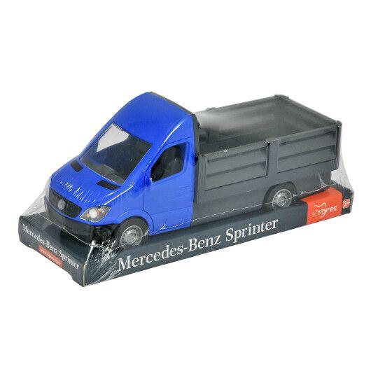 """Автомобіль """"Mercedes-Benz Sprinter"""" бортовий (синій) на планшетці, Tigres"""