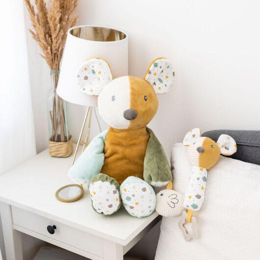 Canpol babies Іграшка плюшева з пищалкою та прорізувачем Mouse - 7