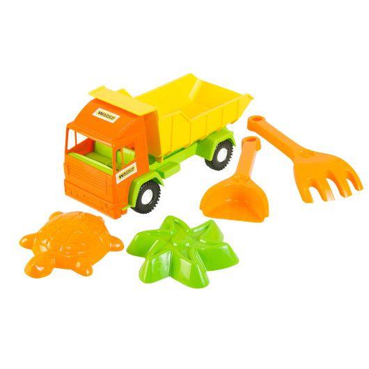 Mini truck грузовик с набором для песка 5 эл.