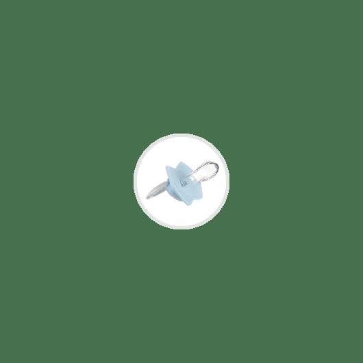 Canpol babies Ланцюжок до пустушки BONJOUR PARIS - рожевий - 6