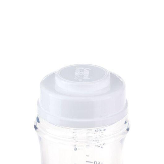 Пляшка з широким отвором антиколікова Easystart - Newborn baby 240 мл сині зірки - 6