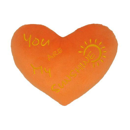 "Подушка - валентинка ""You are my Sunshine"", Tigres"