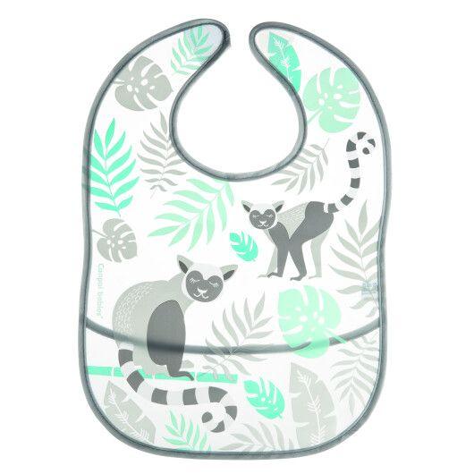 Canpol babies Слинявчик з кишеньою Jungle - кораловий