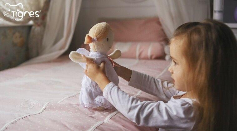 Фото - Текстильна лялька «Angel» – подарунок на перший День ангела крихітки