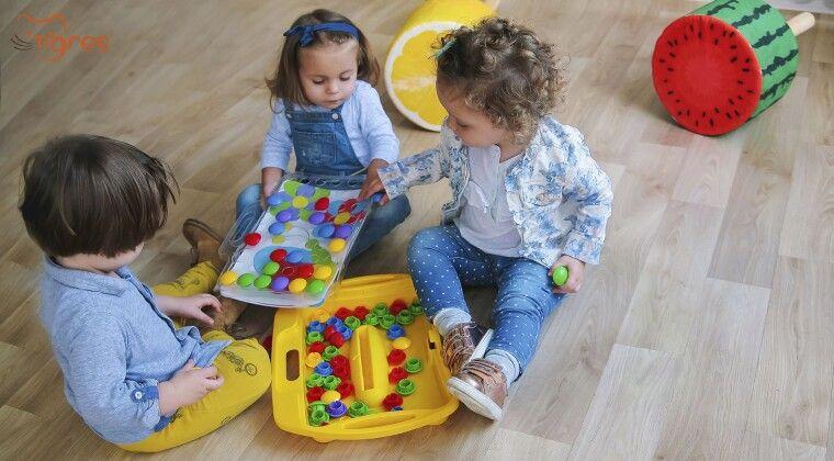 """Фото - Мрієте, щоб малеча почала швидше розмовляти?  Розвивайте дрібну моторику рук за допомогою іграшки """"Моя перша мозаїка"""""""