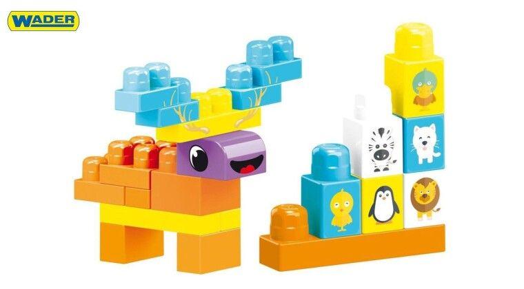 Фото - Великі деталі конструктора WADER створені для маленьких долоньок вашої крихітки
