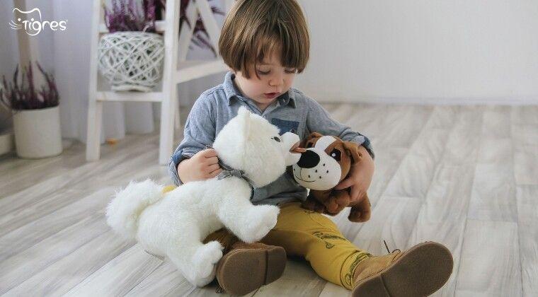 Фото - Іграшка собачка – подарунок, якому малюк обов'язково зрадіє