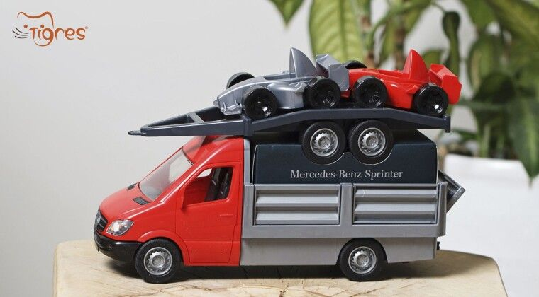 Фото - Бортовий Mercedes Benz Sprinter by ТМ Tigres – обирайте краще!