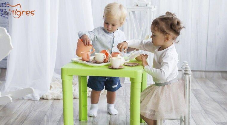 Фото - Знайомте малечу з правилами етикету разом з безпечною іграшковою посудкою від українського виробника ТМ Tigres
