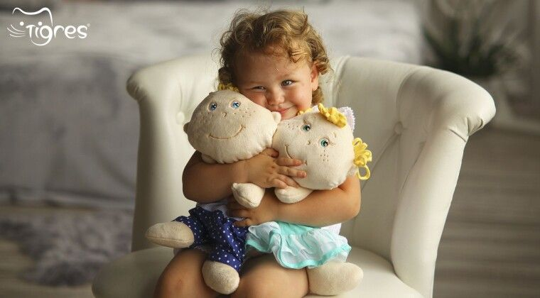Фото - Текстильна лялька - найкраща іграшка для найменших!