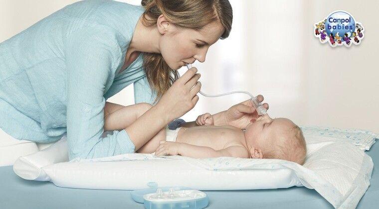 Фото - Аспіратор  Canpol babies – безболісне очищення маленьких носиків!