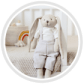 Canpol babies Іграшка м'яка Кролик - рожева - 9